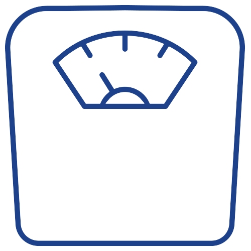 weight loss scale icon