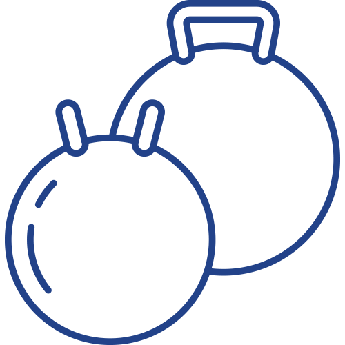 icon of kettlebells