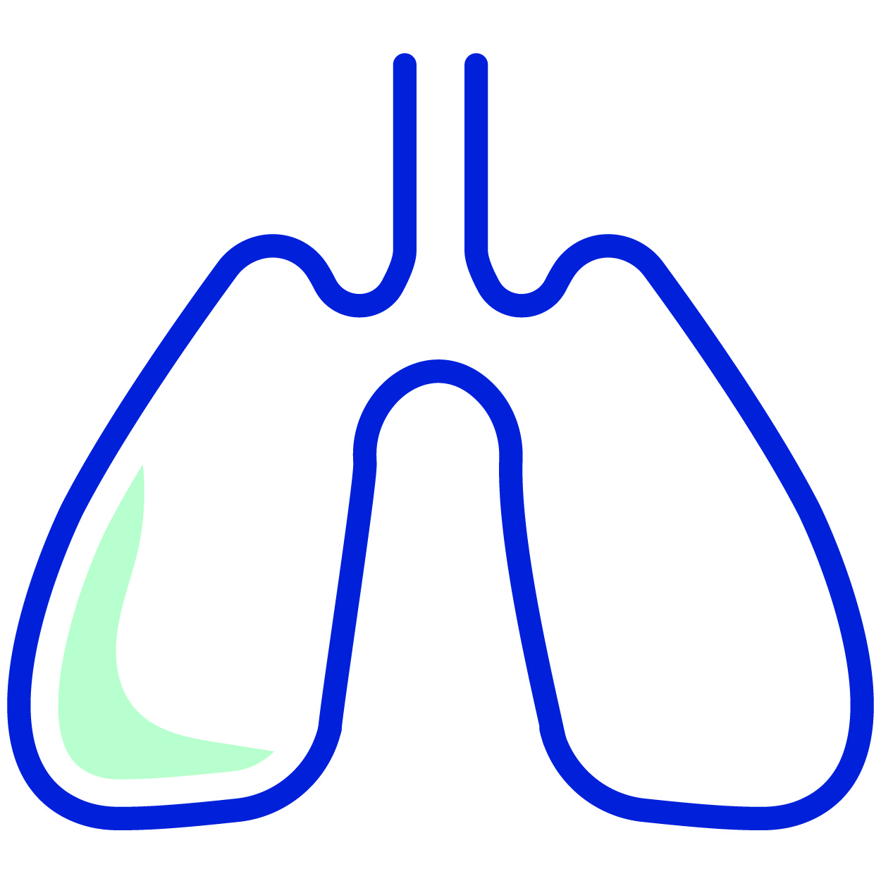 lungs and thoracic icon