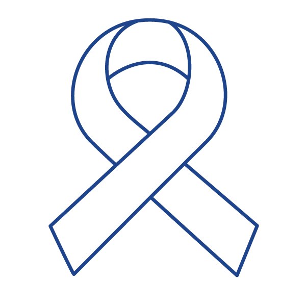 cancer ribbon icon